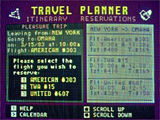 Chase Travel Planner scheduler